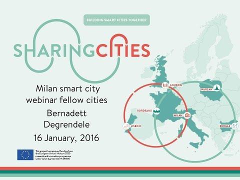 Milan Smart city webinar (16/01/2017)