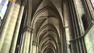 Реймский собор (Cathédrale Notre Dame de Reims)(Подробнее здесь:http://o-france.ru/reymskiy-sobor-shedevr-frantsuzskoy-gotiki.html Реймсский собор был построен в XIII веке, то есть позже..., 2013-07-17T20:20:41.000Z)