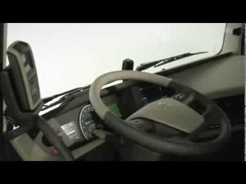 Volvo Trucks 2014 - The new Volvo FH 2014 interior - YouTube
