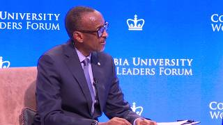 World Leaders Forum   Columbia University | New York, 26 September 2019