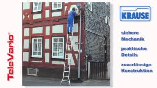 видео Выдвижная лестница или телескопическая стремянка