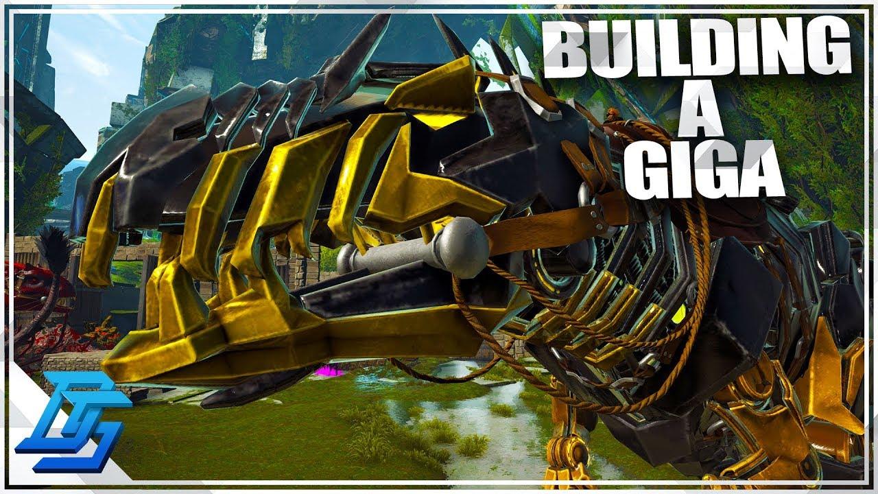 BUILDING A TEK GIGA! , PRIMAL FEAR - Ark Survival Evolved