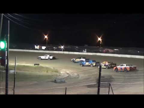 "Thunder Stock - Heat Race #2 - ""Fall Fling"" at North Florida Speedway - 9-29-2017"