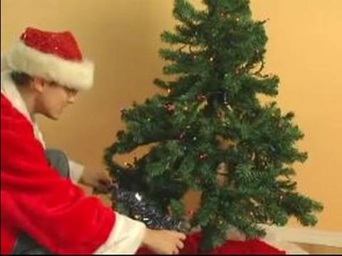 How To Set Up An Artificial Christmas Tree How To Add A