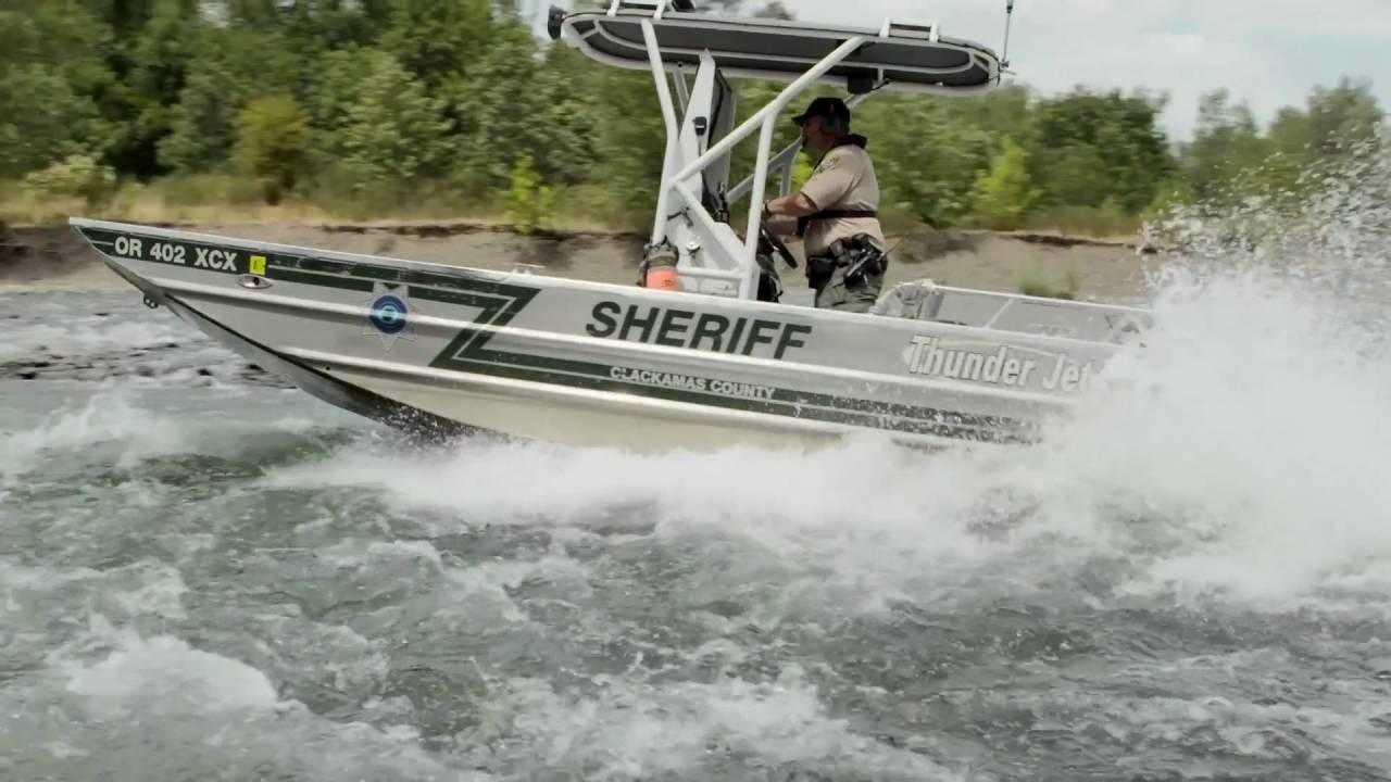 Firecom wireless with Clackamas County Sheriff Marine Patrol