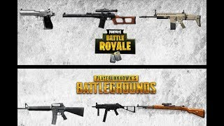 Shooting Fortnite and PUBG Guns In Real Life!!!