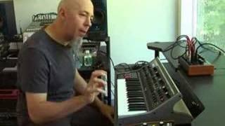 Jordan Rudess Little Phatty Demo 03 - Practicing