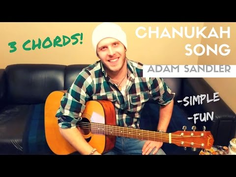The Chanukah Hanukkah Song  Adam Sandler Beginner Guitar Lesson
