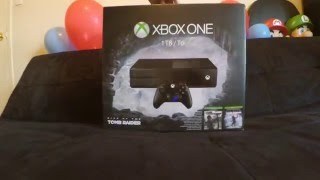 Xbox One Unboxing - Rise of the Tomb Raider Bundle #kw
