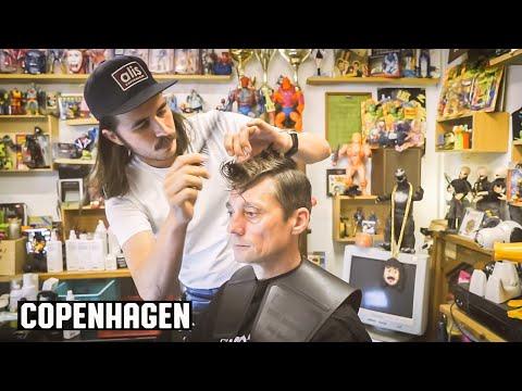 Ruben og Bobby 's Retro Arcade Barbershop Copenhagen, Denmark