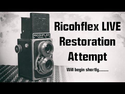 Richoflex VII Camera Teardown and Clean