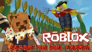 Roblox | Being the worse farm boy!! | Roblox Escape The Evil Farm Obby!! W/William n Hambone