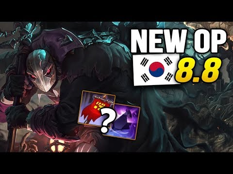 10 New OP Builds and Champs in Korea Patch 8.8 SO FAR (League of Legends)