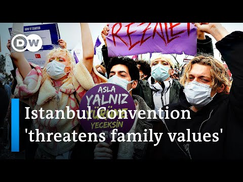 Turkey pulls out of treaty criminalizing violence against wo