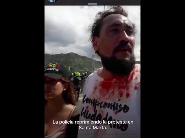 Enfrentamientos entre Policía y manifestantes deja a un herido