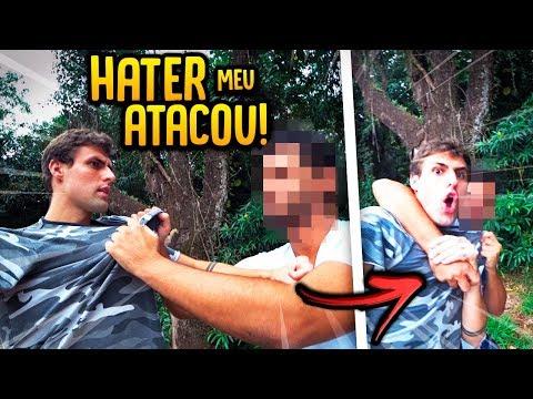 UM HATER ME ATACOU E OLHA O QUE ACONTECEU!! [ REZENDE EVIL ]