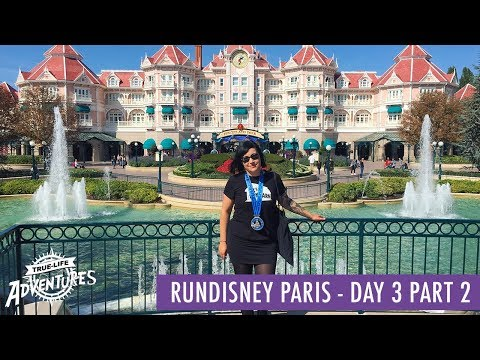 RunDisney Paris 2017 | Day 3 Part 2 | Hanging Out In The Parks After The Half-Marathon