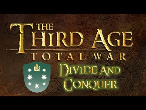 [118] Third Age Total War Divide and Conquer Northern Dunedain v1.2 VH/VH