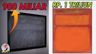 JANGAN KAGET ! 12 Lukisan Aneh ini Harganya Bikin Dengkulmu lemes