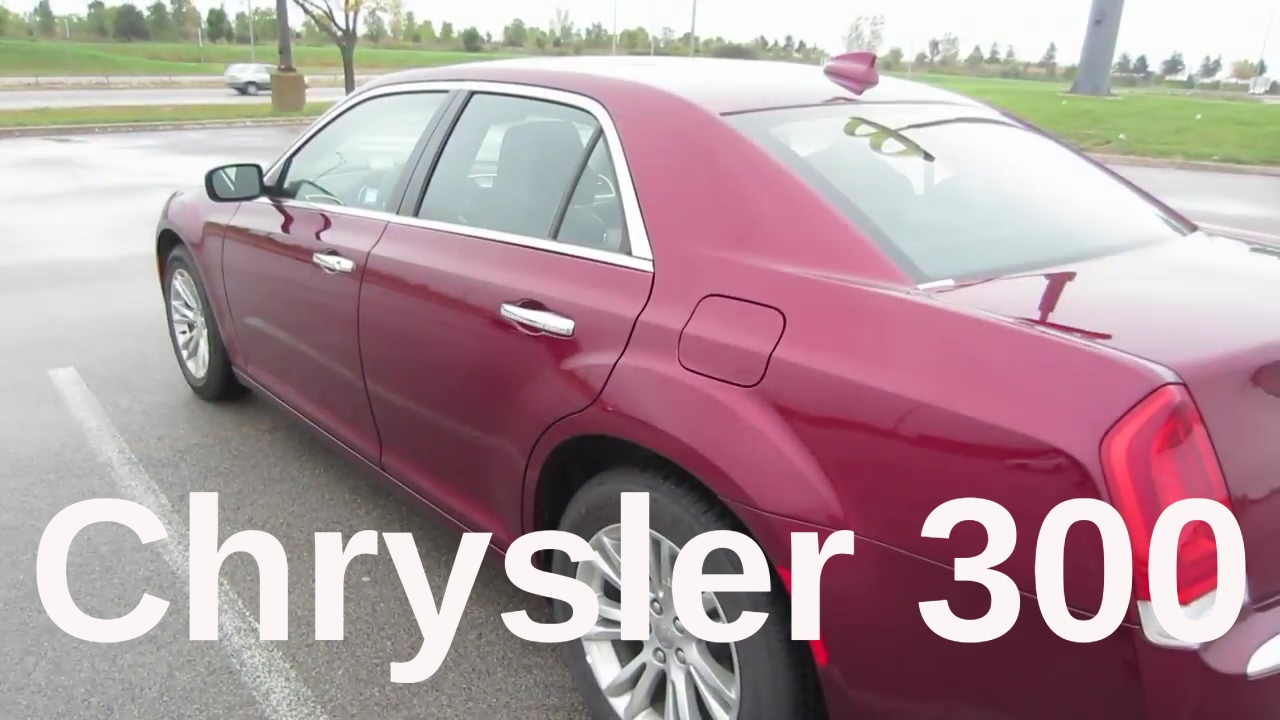 2016 Chrysler 300 C Rental Car Review And Test Drive Youtube
