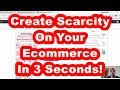 Best Way To Increase eCommerce Sales With Scarcity On Woocommerce
