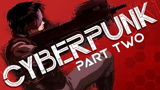Cyberpunk Documentary PART 2   Ghost in the Shell, Shadowrun, Total Recall, Blade Runner Game