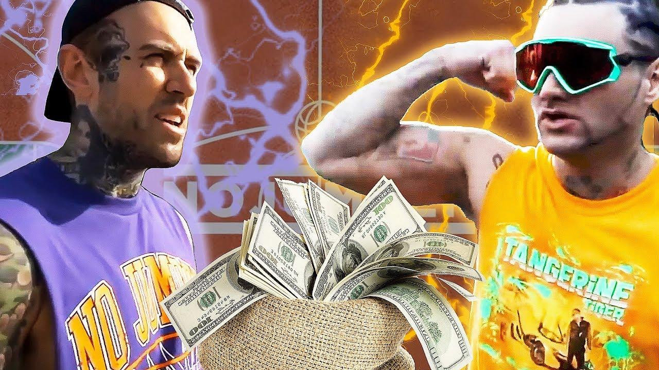Riff Raff gewinnt $ 1000 für Adam22 im Basketball-Spiel + video
