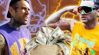 Riff Raff Wins $1000 Off Adam22 In Basketball Game
