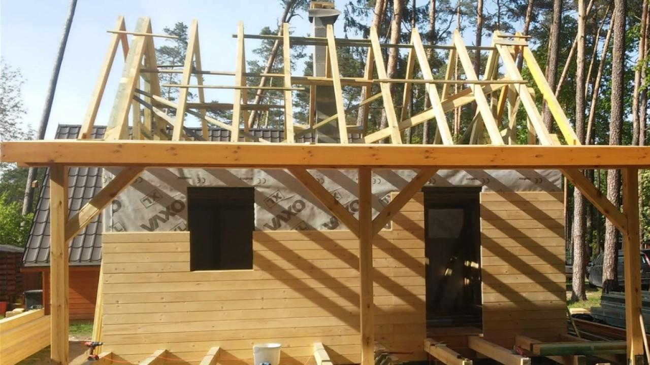 Wszystkie nowe Budowa domku metodą szkieletową - YouTube UM34