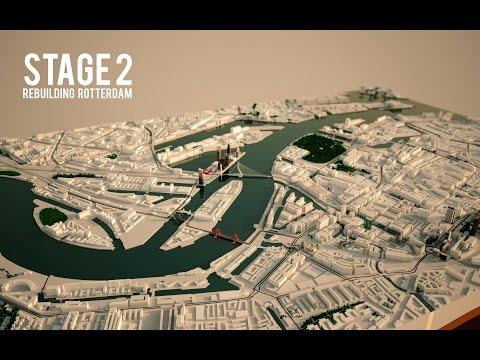 Animatie Stage 2 : De wederopbouw van Rotterdam