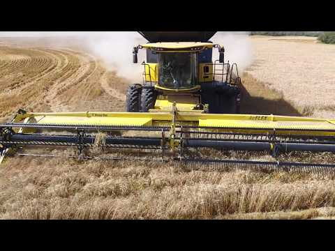 Wheat Harvest 2016. Canada. MY AGRO #MYAGROTOURS