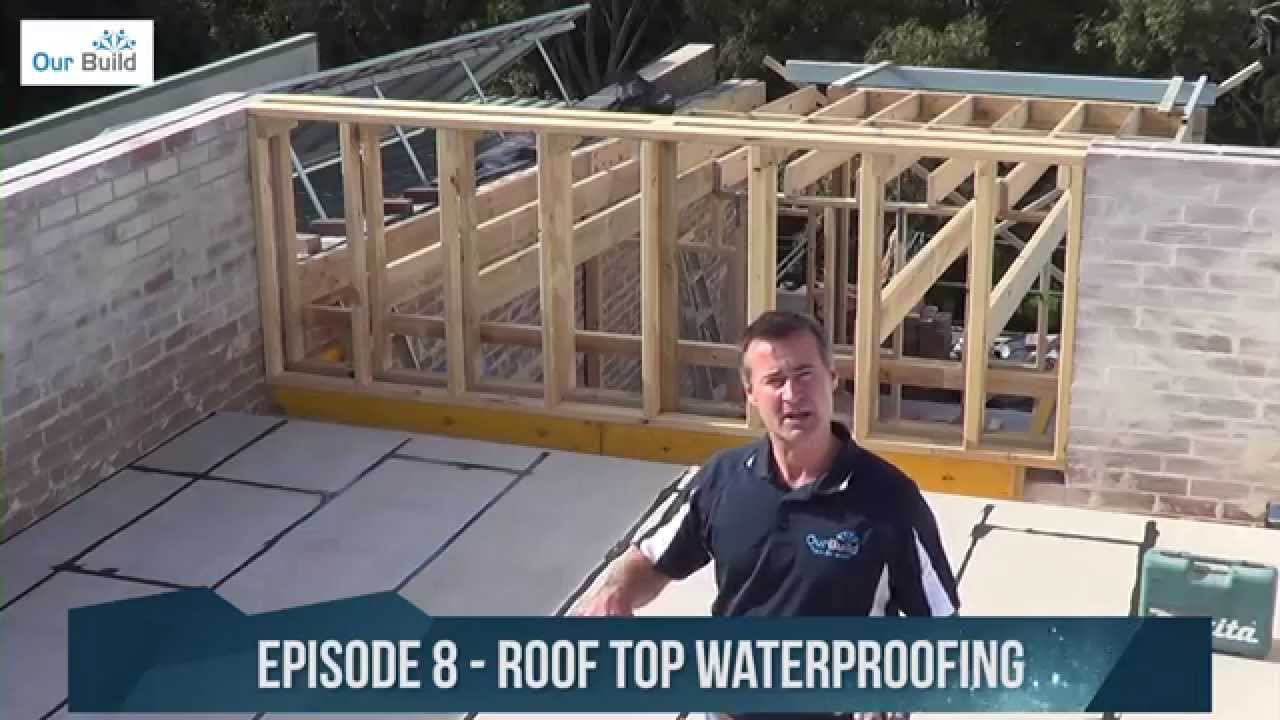 Episode 8 Waterproofing The Roof Deck Small E Build