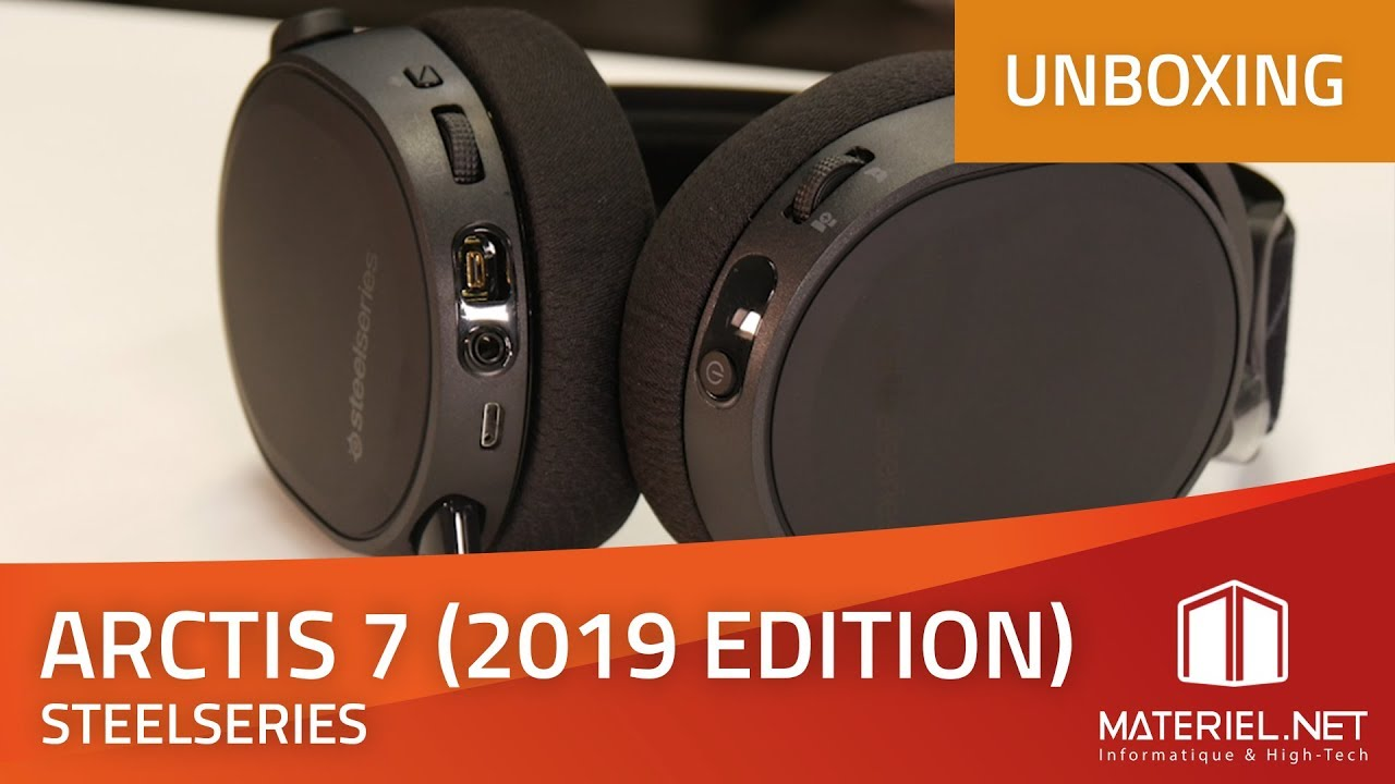 007700a5ca2 Arctis 7 (2019 Edition) - Unboxing Casque gamer - YouTube