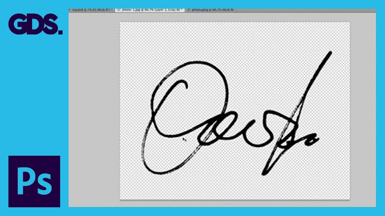 Create a Digital Signature in Adobe Photoshop: Colour Range Tool ...