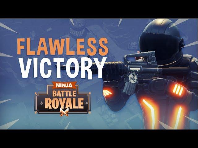 Flawless Victory! - Fortnite Battle Royale Gameplay - Ninja