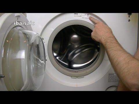 Zanussi Jet System ZJ1217 Washing Machine Demonstration