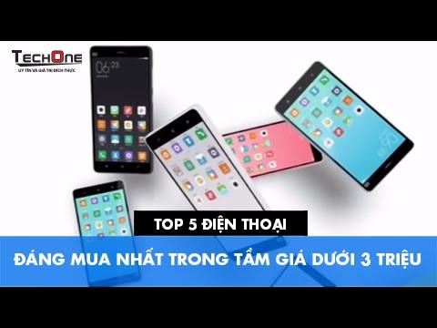 Top 5 điện thoại đáng mua nhất trong tầm giá dưới 3 triệu