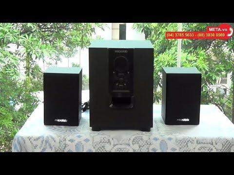 Loa Vi Tính Bluetooth Microlab M-106BT 2.1 (10W) - Hàng Chính Hãng