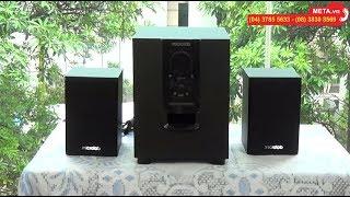 Trải nghiệm âm thanh loa vi tính Bluetooth Microlab M-106BT 2.1 - META.vn