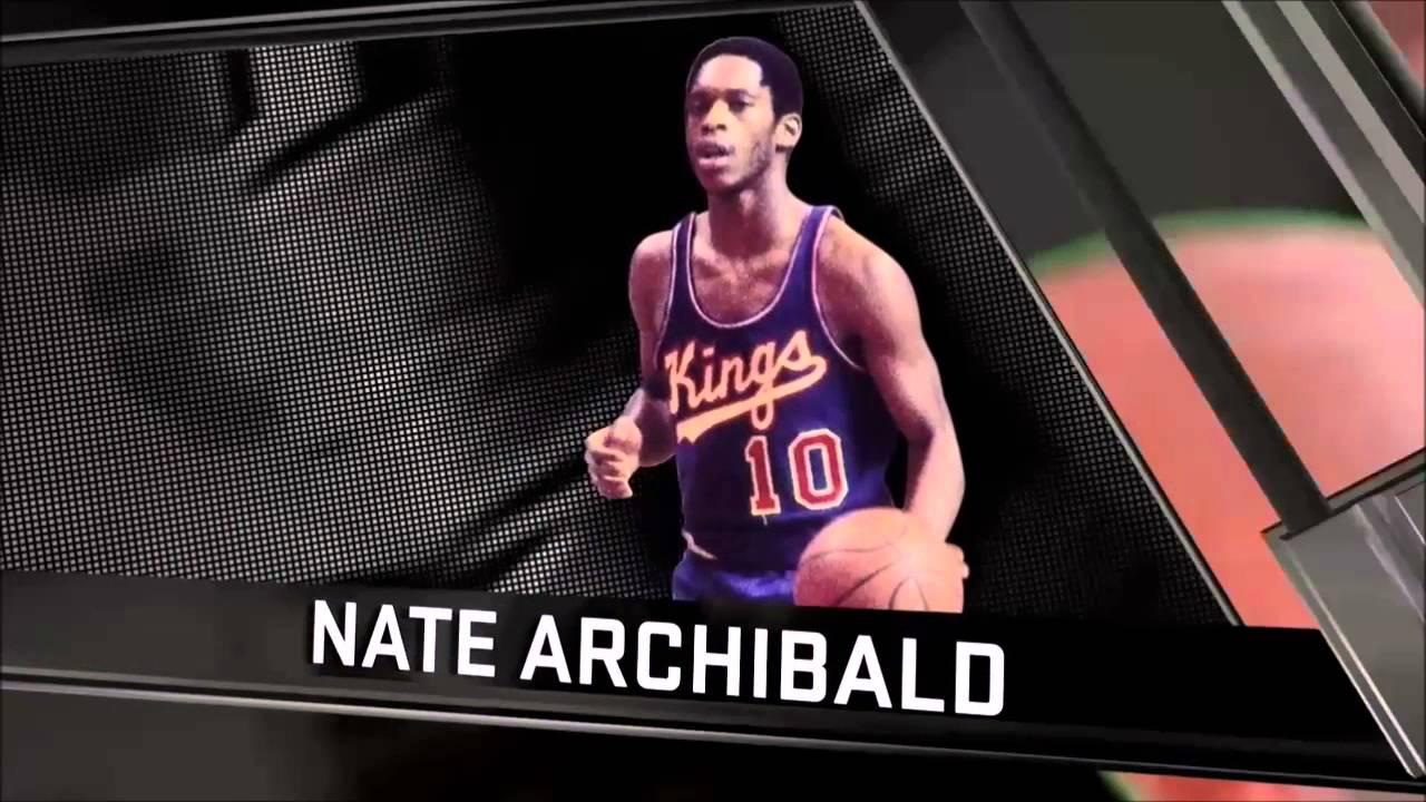 "95 overall Nate ""Tiny Nate"" Archibald dunk NBA 2k16"