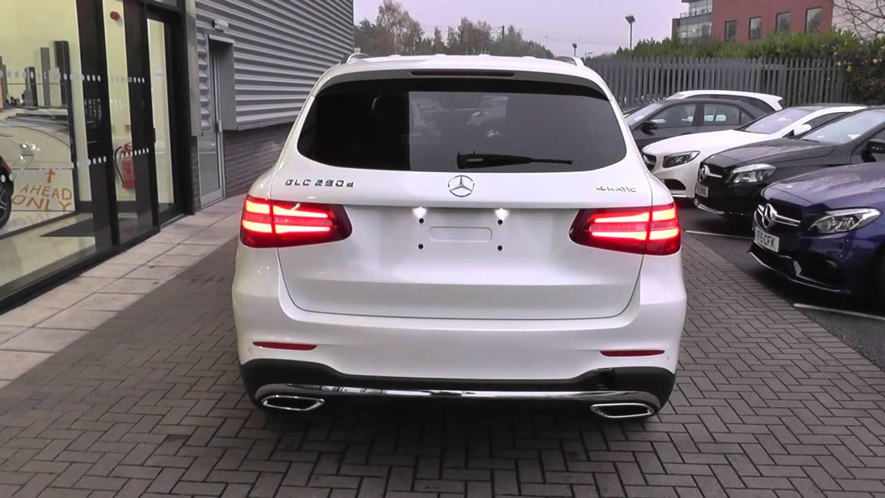 Mercedes Glc 300 Coupe >> Mercedes-Benz GLC GLC 250d AMG Line Premium 5dr Auto U24151 - YouTube