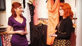 Shopping at the Pinup Girl Boutique