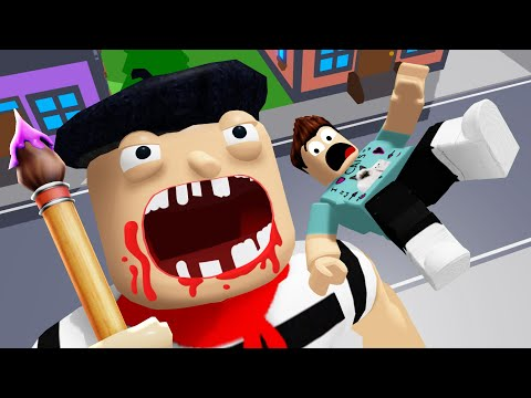 *NEW* ESCAPE THE ART STORE OBBY IN ROBLOX
