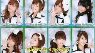 Muten Musume - Appare Kaiten Zushi w/lyrics
