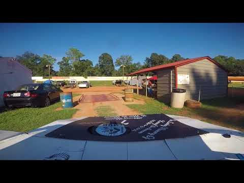 East Lincoln Speedway 8-4-18 (1st Time At This Track) Hot Laps Alexus Motes (Front Cam)