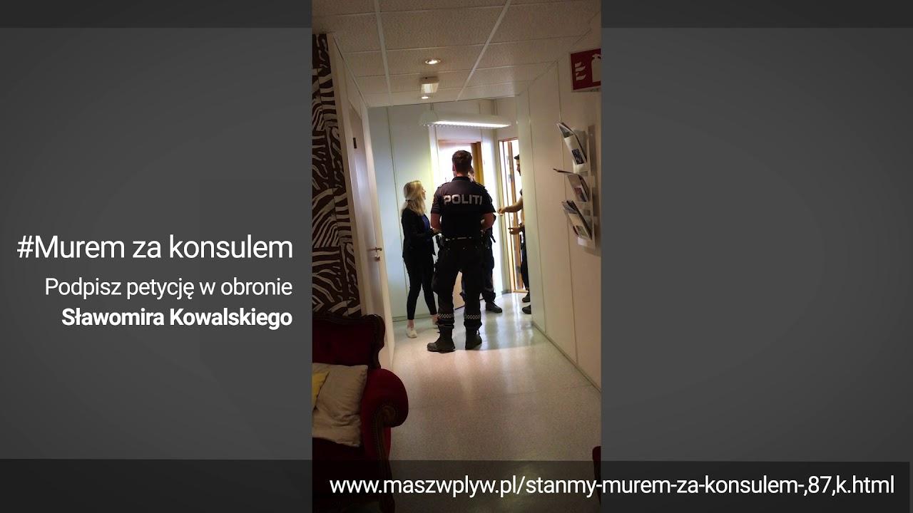 Polens konsul beordres bort fra Hamar av politiet