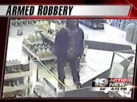 Cleveland Armed Robbery Broadway Caught on Tape Hidden Video