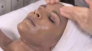 Crystal Starr's Facial With Surface Dryness And Old Scarring