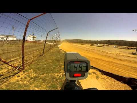 Dog Hollow Speedway - 4/16/16 Super Late Model Practice Session #1