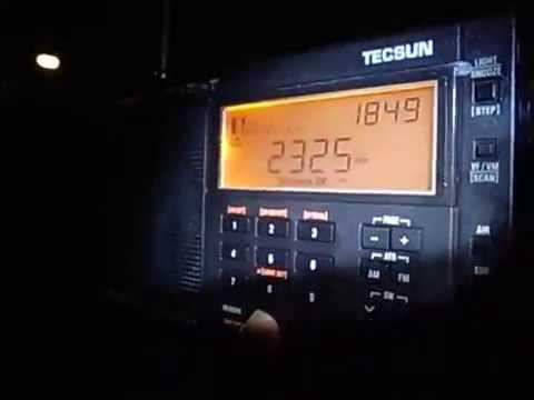 Tecsun PL-680 Vs PL-660 2325kHz ABC Australia